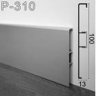 Накладной алюминиевый плинтус для пола ARFEN Р-310, 100х13х3000 мм.