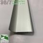 """Алюминиевый плинтус для """"плавающих"""" полов Profilpas Metal Line 98/7SF, 70х26х2000мм."""
