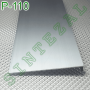 Алюминиевый плинтус скрытого монтажа Sintezal Р-110, высота 100 мм.