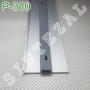 Накладной алюминиевый плинтус для пола ARFEN Р-310, высота 100 мм.
