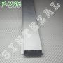 Встроенный (скрытый) плинтус с LED-подсветкой Р-236, высота 50мм.