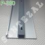 Алюминиевый плинтус для пола с кабель-каналом ARFEN Р-380, высота 80 мм.