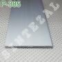 Ультратонкий алюминиевый плинтус для пола ARFEN Р-385, высота 85 мм.