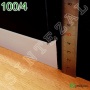 Плинтус скрытого монтажа Profilpas Metal Line 100/4, высота 40мм.