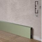 Алюминиевый плинтус накладной Profilpas Metal Line 89/4EI Титан, 40х10х2000мм., Италия