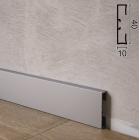 Прямоугольный алюминиевый плинтус Profilpas Metal Line 89/4, 40х10х2000мм., Италия