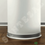 Плоский алюминиевый плинтус для пола Profilpas Metal Line 90/7, высота 70 мм.