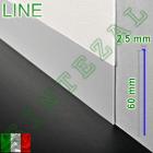 Скрытый алюминиевый плинтус под штукатурку Progress PROSKIRTING LINE