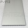 Плоский алюминиевый плинтус под штукатурку Sintezal Р-112 Высота 100 мм.