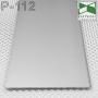 Скрытый алюминиевый плинтус под машинную штукатурку Sintezal Р-112, H = 100 мм.
