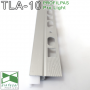 LED-профиль для создания подсветки на плинтусе Profilpas ProLight TLA/10, 20х10х2700мм., TLA/10, ProLight TLA/10