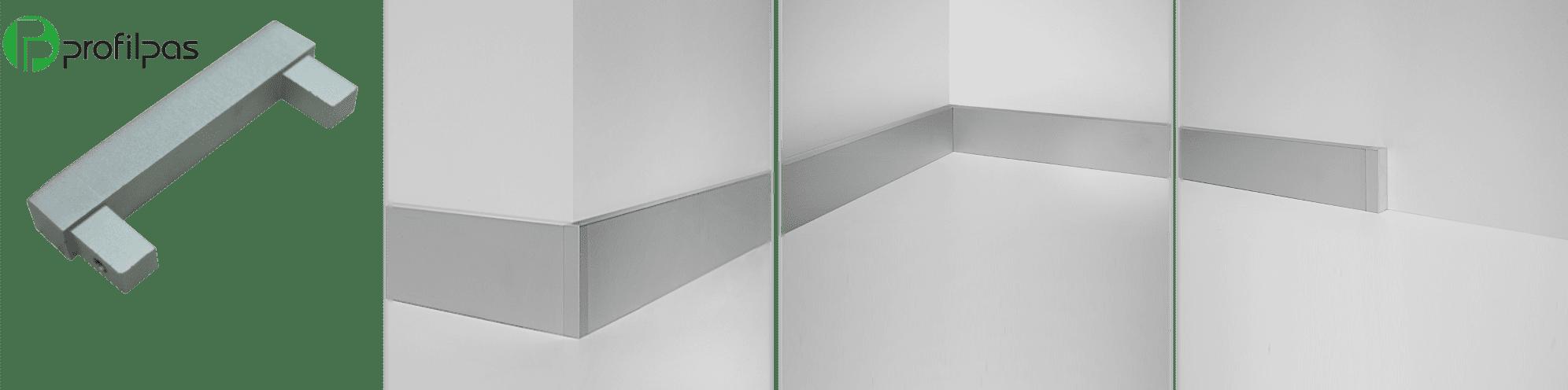 универсальный соединитель плинтуса Profilpas Metal Line 89/6
